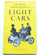 History and Development of Light Cars : The    (Caunter 1957) Softback